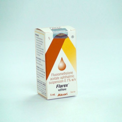 Flarex (Fluorometholone) Eye Drop