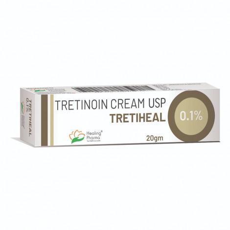Tretiheal (Tretinoin) Cream 0.1% (20gm)