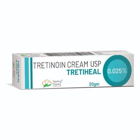 Tretiheal (Tretinoin) Cream .025% (20gm)