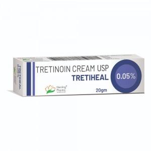 Tretiheal (Tretinoin) Cream 0.05% (20gm)